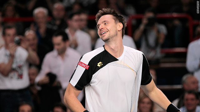 Soderling was ecstatic after claiming his first Masters Series title in Paris.