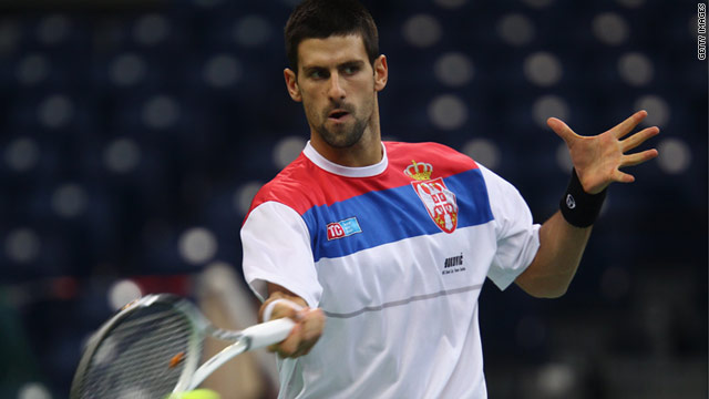 Novak Djokovic is hoping to lead Serbia to a historic first Davis Cup title against three-time winners France.