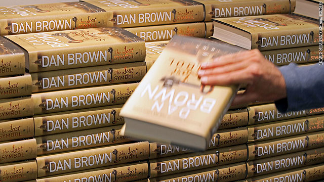 Dan Brown's &quot;The Lost Symbol&quot; was downloaded for free more than 100,000 times within its first days on sale.