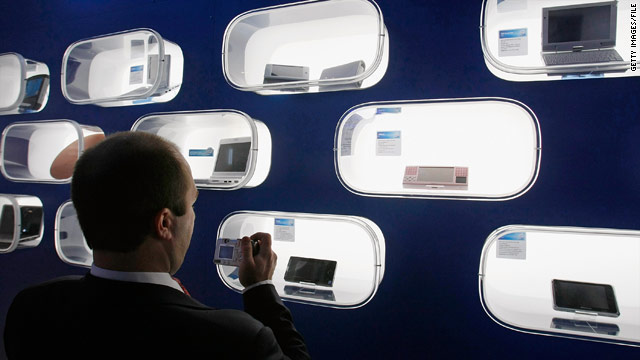 Tablet-sized wireless devices will be a hot item at the annual Consumer Electronics Show in Las Vegas this week.