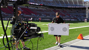 ESPN shot a September football game between USC and Ohio State in 3-D.