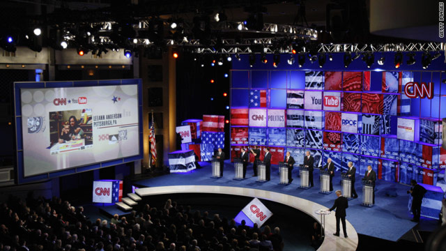 The CNN/YouTube presidential debates highlighted the site's emergence into the realm of public discourse.