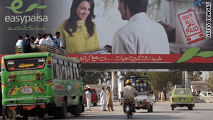 Easy Paisa in Pakistan tied a mobile operator to a micro-finance bank, offering banking opportunites to millions.