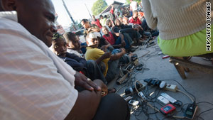 When cell phone coverage and Internet failed, some Haitians turned to amateur radio to communicate.