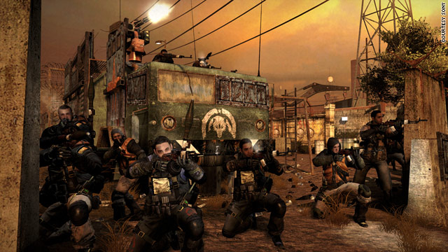 "In ""MAG,"" for the PlayStation 3, up to 256 players can join in real-time skirmishes."
