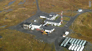Coast Guard Loran Station Attu in Alaska is one of five that will remain open until June.