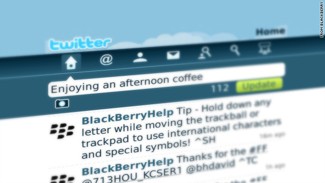 Blackberry for Twitter is being tested now and will be availabe for public beta testing later this year.