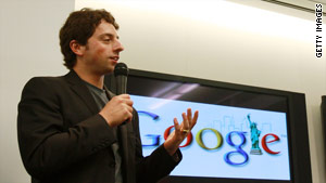 "Google co-founder Sergey Brin wants to find a way ""to work within the Chinese system"" instead of pulling out of China."
