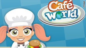 Zynga games like Café World draw much higher rates of female players than most video games.