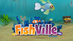 More than 13 million people play FishVille every week, according to Zynga.