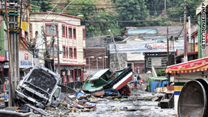 Many buildings in Chile withstood a stronger earthquake than one in Haiti, which toppled concrete structures.
