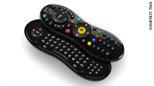 The Tivo Premiere remote will feature a slide-out keyboard.