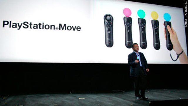 Sony Move Unveiled