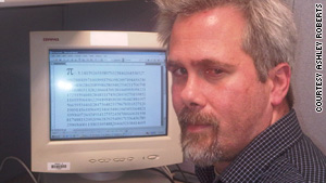 Marc Umile holds a personal record of 15,314 digits and typing them out from memory.