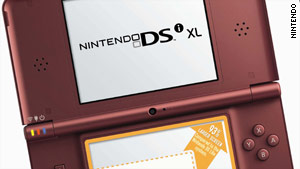 Nintendo says a new 3-D handheld console will succeed its DSi  XL gaming device, above.