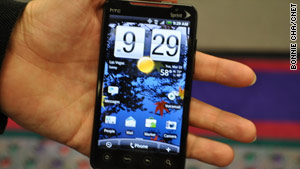 Sprint has announced its first 4G phone, the HTC Evo 4G, which will go on sale this summer.