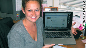 Some Facebook users, like Elana Borchers, are using aliases  on the social-networking site while they hunt for jobs.