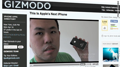 Gizmodo got the iPhone