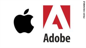 Apple's Mike Chambers announced, in ablog post, Adobe's intention to stop working on the Flash-to-iPhone converter.