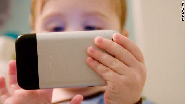 Almost half of the top 100-selling iPhone apps are for preschool or elementary-aged children.