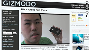 Wired.com identified the person who reportedly sold a secret iPhone prototype to a blog editor, shown here.