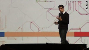 Sundar Pichai, Google VP of product management, kicks off the company's developer conference Wednesday.