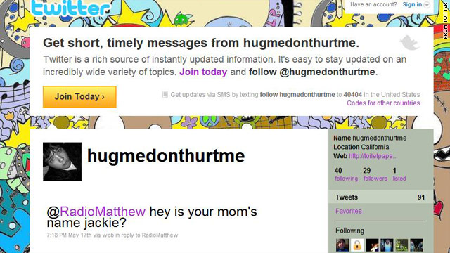 "One night Matthew Keys received a message via Twitter from Adam Smith reading: ""Hey is your mom's name Jackie?"""