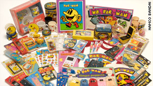 Pac-Man inspired hundreds of spin-off products, including board games, a cartoon and even a hit song.