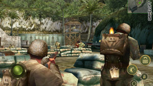 """""""Brothers in Arms 2: Global Front HD"""" offers World War II battle action."""