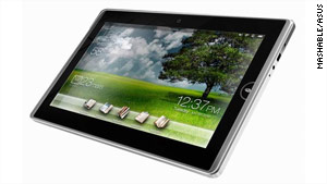 ASUS is one of the many companies in the process of unleashing tablets and e-readers.