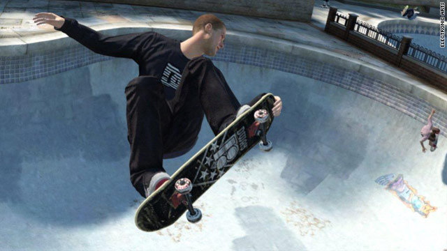 """Skate 3"" focuses heavily on cooperative play, including team-based challenges in the fictitious city of Port Carverton."