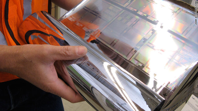 HP has developed a process for creating flexible plastic displays that could be used in a number of gadgets.