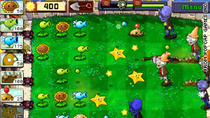 """Plants vs. Zombies"" is a fun title, especially for plant-lovers."