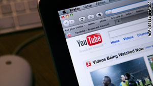 Video-sharing site YouTube was down for about an hour on Thursday.