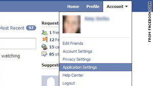 Facebook users can hide their info from applications, but some fear not enough people know that.
