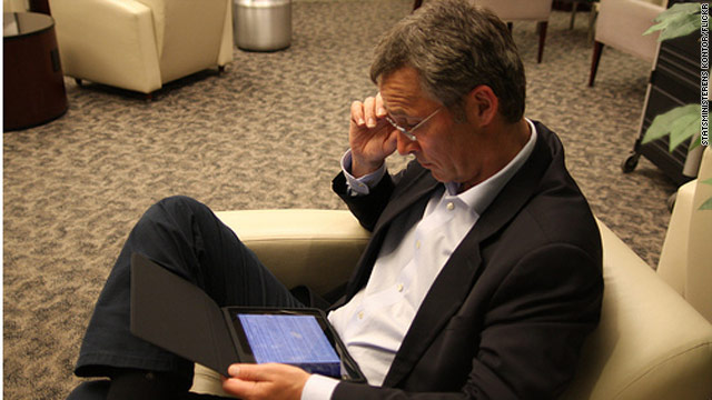 Jens Stoltenberg used his iPad to run Norway remotely.