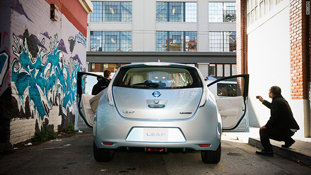 The electric Nissan Leaf will cost about $25,000 after a federal tax credit.
