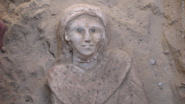 This 3-foot-tall female mummy was discovered by Egyptian archaeologists in Bahariya Oasis, southwest of Cairo.