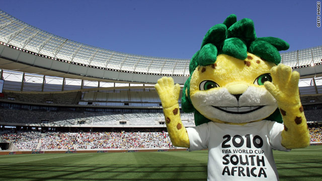 World Cup mascot Zakumi has some obvious green credentials, but many environmentalists think the country could do more.