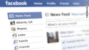 """Attack is using Facebook's new """"like"""" feature to spread spammy links across the site."""