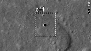 Scientists report finding a lunar hole that might make a good candidate for a moon colony.