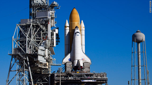 Endeavour is scheduled to blast off on February 7. NASA is ending its shuttle program this year.