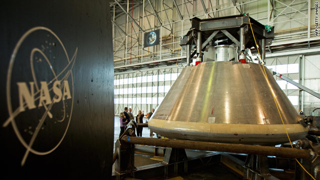 NASA's Constellation Program, which includes this Orion space capsule currently under development, would be axed under President Obama's proposed 2011 budget.