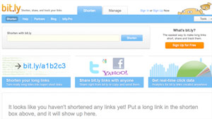 URL shortener bit.ly gets about 4.7 billion clicks per month, according to the company.