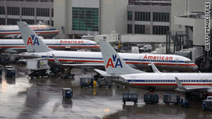 American Airlines matched competitors' baggage fee hikes.