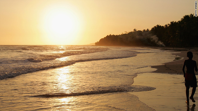 Jacmel, a picturesque town in southern Haiti, has some of the best beaches in the country.