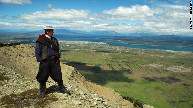 One of Hotel Remota's most popular excursions, led by a Chilean gaucho, offers a 360-degree view of Puerto Natales.