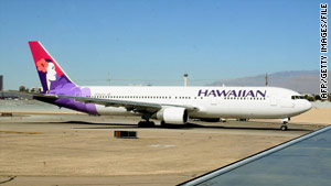 Hawaiian Airlines ranked at the top, with 92 percent of its planes landing on time in 2009.
