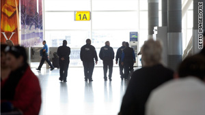 "The TSA hopes to grant ""secret"" clearance to 10,000 airport workers over the next two years."