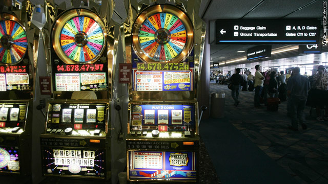 McCarran International Airport in Las Vegas, Nevada, is one of only two U.S. airports to have slot machines.